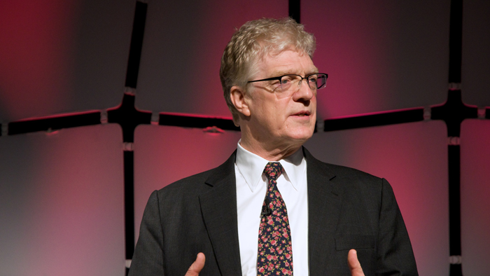 The passion according to Ken Robinson